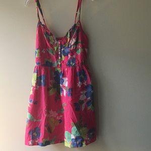 Pink Hollister Small Summer Dress